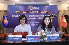ASEAN: Bảo vệ trẻ em không bị bắt nạt ở trường học và môi trường mạng