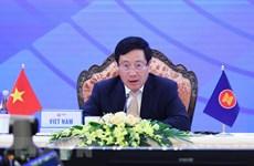Phó Thủ tướng dự Hội nghị Bộ trưởng Ngoại giao ASEAN-EU lần thứ 23