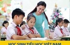 Học sinh tiểu học Việt Nam ở mức hàng đầu khu vực về kết quả học tập