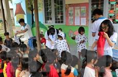 [Photo] Gia Lai: Ấm tình thiện nguyện dành cho trẻ em vùng cao