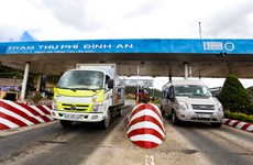 Bắt đầu thu phí không dừng trên tuyến cao tốc Liên Khương-Prenn