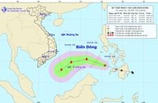 Áp thấp nhiệt đới đi vào Biển Đông và khả năng mạnh lên thành bão