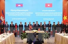 Kỳ họp Ủy ban Hỗn hợp Việt Nam-Campuchia về hợp tác kinh tế, văn hóa