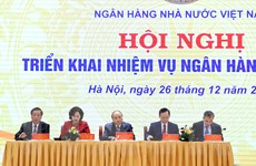 [Photo] Thủ tướng dự Hội nghị triển khai nhiệm vụ ngân hàng năm 2021