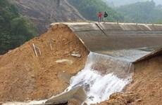 Thanh Hóa: Khắc phục cố vỡ kênh Bắc Sông Chu-Nam Sông Mã