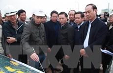 Ninh Bình: Kiểm tra tiến độ thực hiện Dự án cao tốc Mai Sơn-Quốc lộ 45