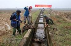 Lấy nước vụ Đông Xuân đợt 1: Các trạm bơm của Hà Nội chưa thể vận hành