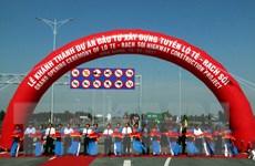 Khánh thành dự án đầu tư xây dựng tuyến Lộ Tẻ-Rạch Sỏi
