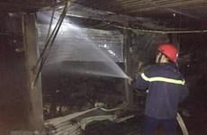 Quảng Ninh: Hỏa hoạn tại kho kiểm hóa Cửa khẩu Bắc Phong Sinh