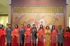 Hải Phòng: Khai mạc trưng bày tranh dân gian truyền thống Việt Nam