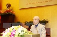[Photo] Hội nghị trực tuyến toàn quốc triển khai công tác bầu cử