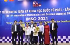 Hà Nội: Giành 20 huy chương kỳ thi Olympic Toán và khoa học quốc tế
