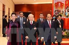 Hình ảnh Tổng Bí thư, Chủ tịch nước tại phiên họp trù bị Đại hội Đảng