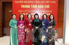 [Photo] 222 đại biểu nữ tham dự Đại hội lần thứ XIII của Đảng