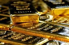 Giá vàng thế giới xuống mức thấp nhất một tuần sau cuộc họp của Fed