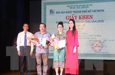 Thành phố Hồ Chí Minh: Vinh danh tác phẩm sân khấu xuất sắc năm 2020