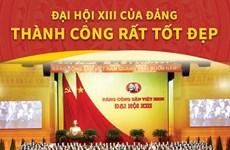 [Infographics] Đại hội XIII của Đảng thành công rất tốt đẹp