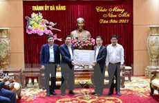 Trưởng ban Nội chính Trung ương làm việc với Thành ủy Đà Nẵng