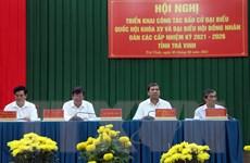 Trà Vinh triển khai công tác bầu cử Quốc hội và HĐND các cấp