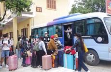 Dịch COVID-19: 775 người hoàn thành cách ly về nhà đón Tết