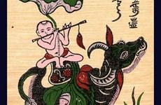Tìm hiểu ý nghĩa hình tượng con trâu trong tranh dân gian Đông Hồ