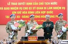 Việt Nam tham gia gìn giữ hòa bình LHQ: Nâng tầm thế và lực đối ngoại