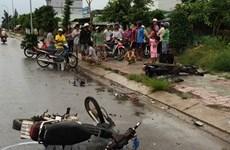 Gia Lai: Va chạm giữa hai xe máy khiến 4 thanh niên tử vong