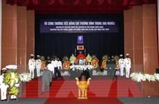 Cử hành trọng thể Lễ truy điệu, an táng nguyên PTT Trương Vĩnh Trọng