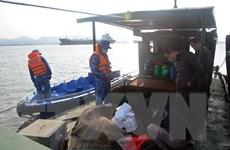 Bộ Tư lệnh Vùng Cảnh sát biển 1 tạm giữ tàu chở lậu 20.000 lít dầu DO
