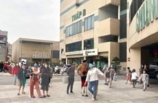 Hà Nội: Cháy ở chung cư Mipec Long Biên khiến nhiều người hốt hoảng