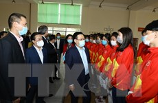 Bí thư Thành ủy Hà Nội kiểm tra công trình phục vụ SEA Games 31