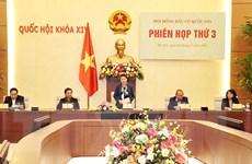 Những hình ảnh tại phiên họp thứ 3 Hội đồng bầu cử quốc gia