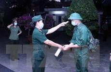 Quân khu 7 tổ chức giao nhận quân năm 2021 nhanh gọn, an toàn