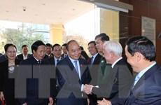 Thủ tướng và đoàn đại biểu Quốc hội Hải Phòng tiếp xúc cử tri