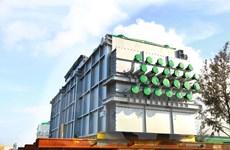 Doosan Vina xuất 2.600 tấn sản phẩm cho khách hàng Nhật và Thái Lan