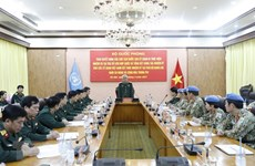 Để màu cờ Việt Nam phủ rộng hơn trên bản đồ gìn giữ hòa bình thế giới