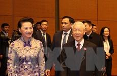Tổng Bí thư, Chủ tịch nước dự khai mạc Kỳ họp 11, Quốc hội khóa XIV
