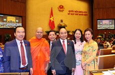 [Photo] Khai mạc Kỳ họp thứ 11, Quốc hội khóa XIV tại Hà Nội