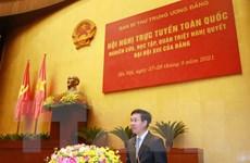 Hội nghị trực tuyến toàn quốc quán triệt Nghị quyết Đại hội Đảng XIII