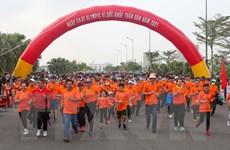Hơn 4.000 người tham gia Ngày chạy Olympic vì sức khỏe toàn dân