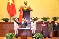 [Photo] Chủ tịch Quốc hội Vương Đình Huệ tuyên thệ nhậm chức