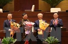 Kỳ họp thứ 11: Quốc hội miễn nhiệm ba Phó Chủ tịch Quốc hội