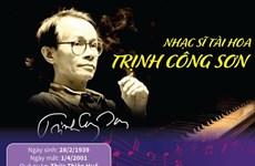 [Infographics] 20 năm ngày mất nhạc sỹ tài hoa Trịnh Công Sơn