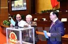 [Photo] Quốc hội tiến hành miễn nhiệm Thủ tướng Chính phủ