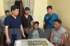 Sơn La: Bắt quả tang 2 đối tượng vận chuyển 8 bánh heroin