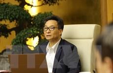 Phó Thủ tướng Vũ Ðức Ðam họp Ban Chỉ đạo Quốc gia phòng chống dịch