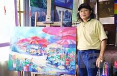 Nghệ thuật qua từng ngõ nhỏ Hà Nội với nét vẽ của họa sỹ Bình Minh