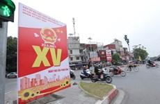 Bầu cử QH và HĐND: Dân chủ công khai, bình đẳng trong vận động bầu cử