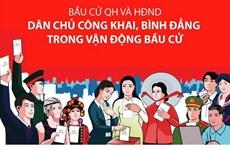 [Infographics] Các nguyên tắc và hành vi bị cấm khi vận động bầu cử