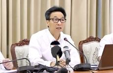 Phó Thủ tướng họp chống dịch với TP.HCM và 10 tỉnh giáp biên Tây Nam